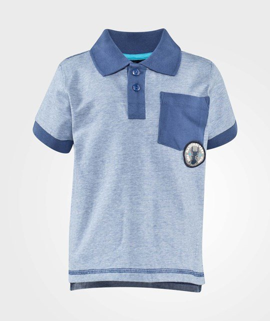 Minymo Wesly 11 Polo  True Blue