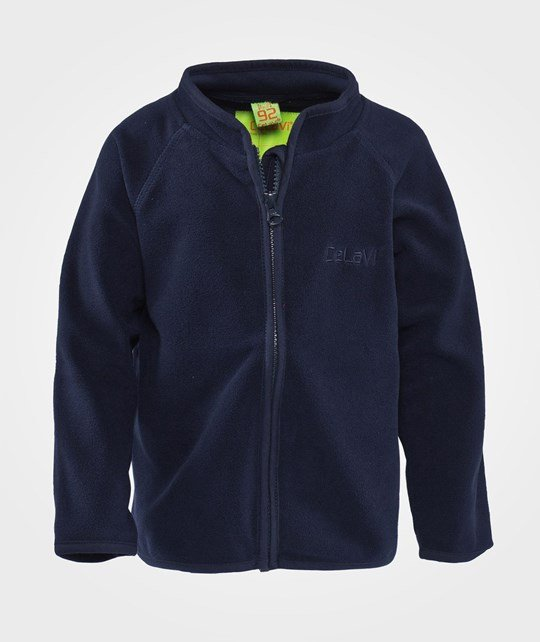 Celavi Fleece Jacket  Navy