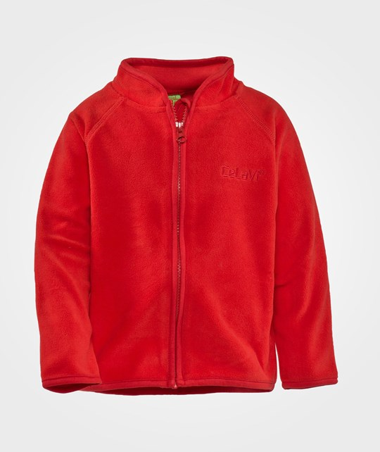 Celavi Fleece Jacket  Red