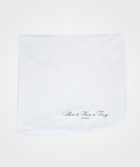 How To Kiss A Frog Baby Blanket White love print