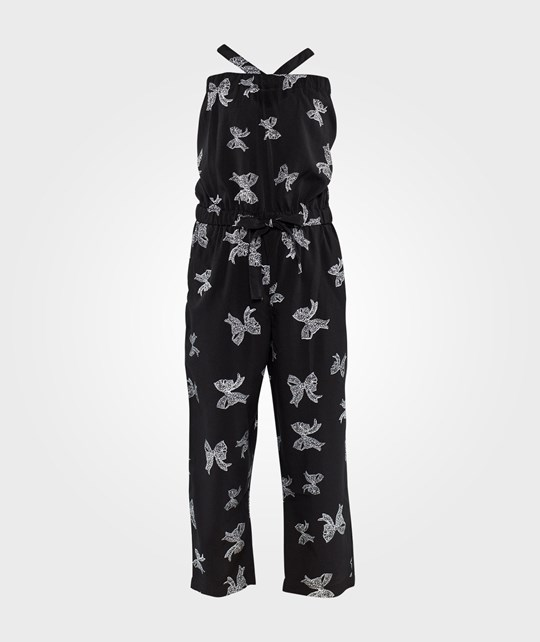 How To Kiss A Frog Moonlight jumpsuit Black bow