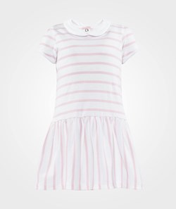 Petit Bateau Striped Dress Collar