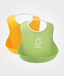 Babybjörn Soft Bib 2-pack GreenYellow