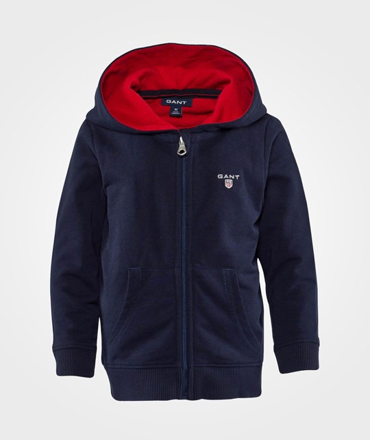 Gant Boy Gant Shield Zip Hood Classic Blue