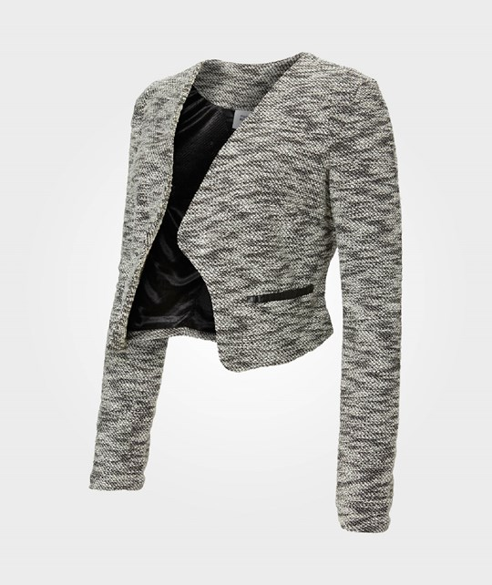 Mamalicious SAMMY LS JERSEY BLAZER Medium Grey Melange Black