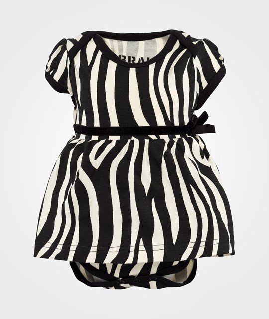 The BRAND Laila Bagge Body Dress Zebra Black