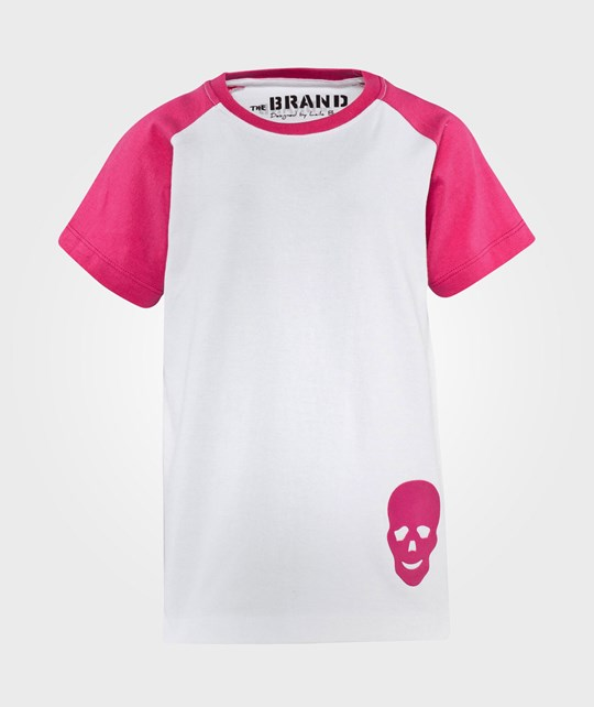The BRAND Laila Bagge Tee Pink/White Pink