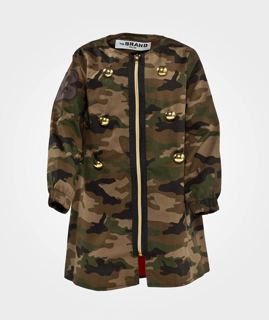The BRAND Spring Coat Camo Green