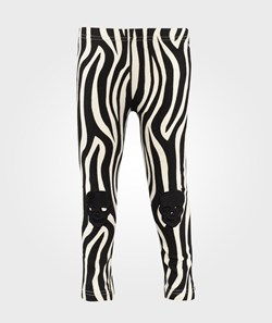 The BRAND Laila Bagge Tights W. Knee Patch Zebra
