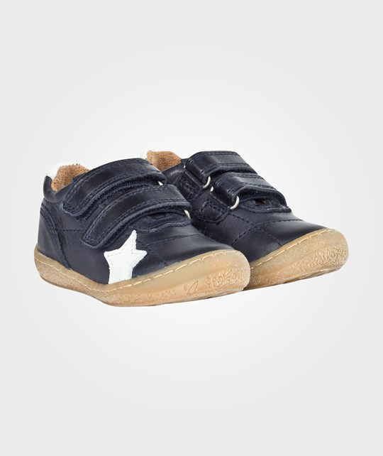 Bisgaard Velcro Shoes Blue