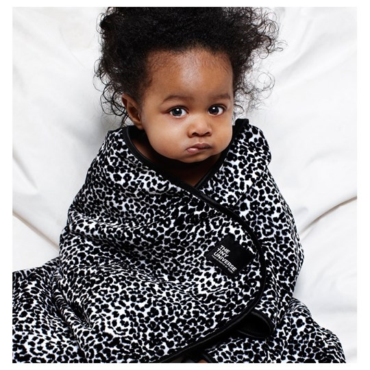 The Tiny Universe Tiny Wrap Leopard Filt Black