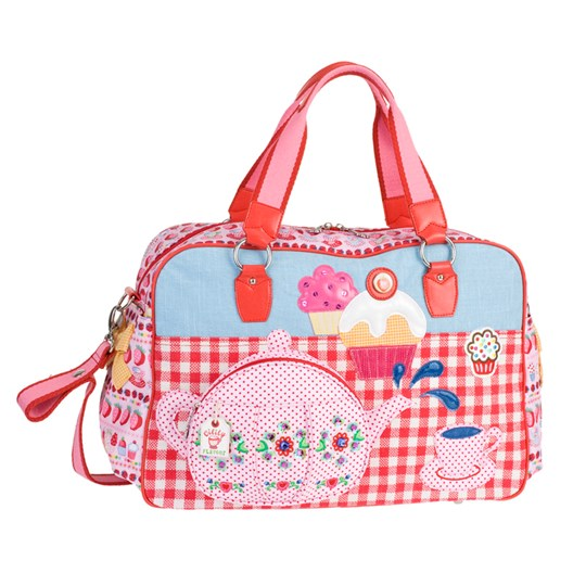 Oilily Tea Party Pink Babybag Multi