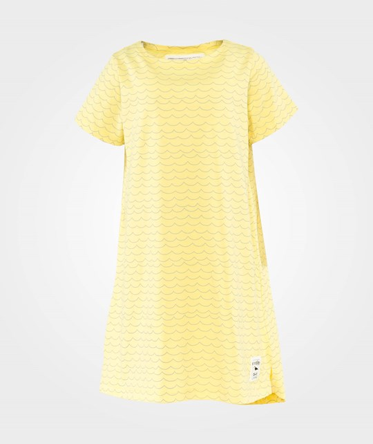 Emma och Malena EM Joy T-shirt Dress Yellow Wave Yellow Wave