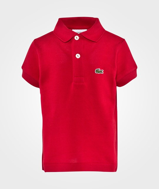 Lacoste T-shirt Tokyo Red Red