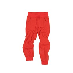 Mini Rodini Sweat Pants Terry Red