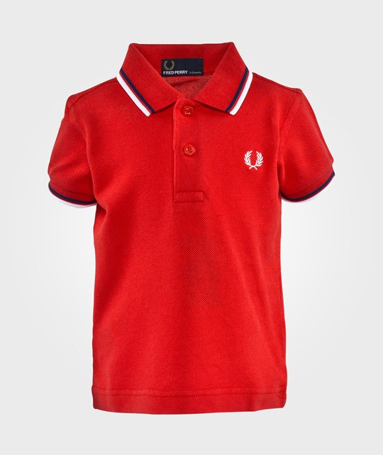Fred Perry My First Polo Shirt Red/Medieval