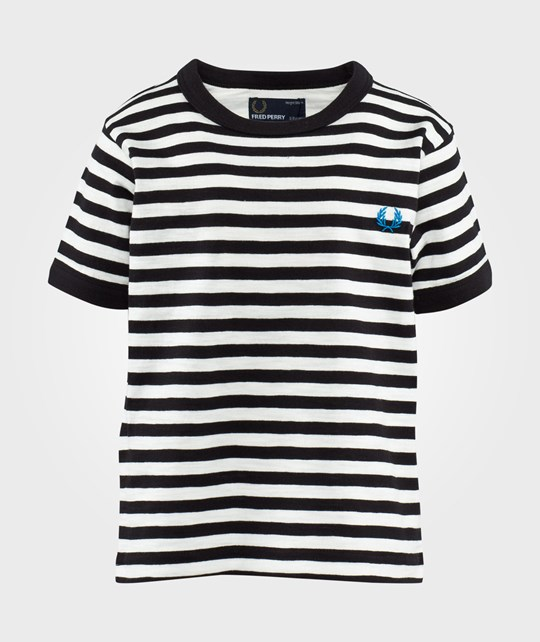 Fred Perry Kids Ringer T-Shirt Snow White