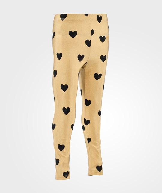 Mini Rodini Love Aop Leggings Beige