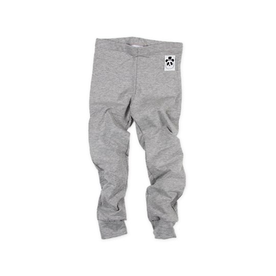 Mini Rodini Leggings Solid Grey Black
