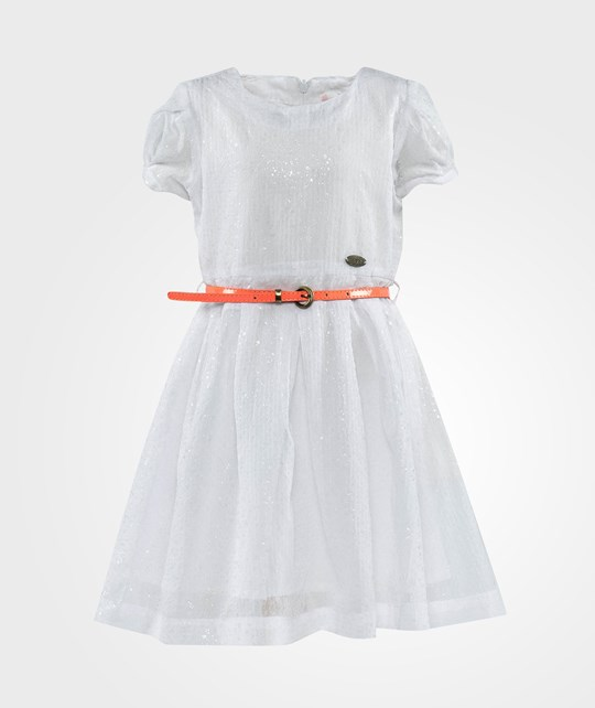 NONO Moan Dotted Dress White White