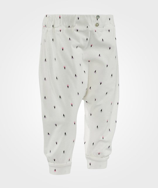 Emile et Ida Slouchy Pants  Ecru All Over