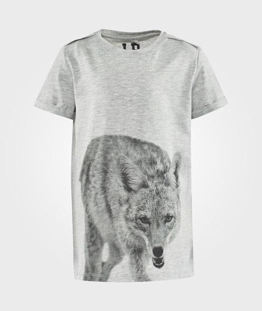Little Pieces Karl Ss Tee Light Grey Melange