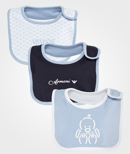 Emporio Armani Gift Set Three Bibs Multi