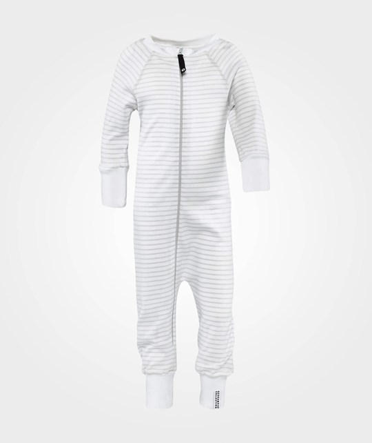 Geggamoja Pyjamas  White/Grey