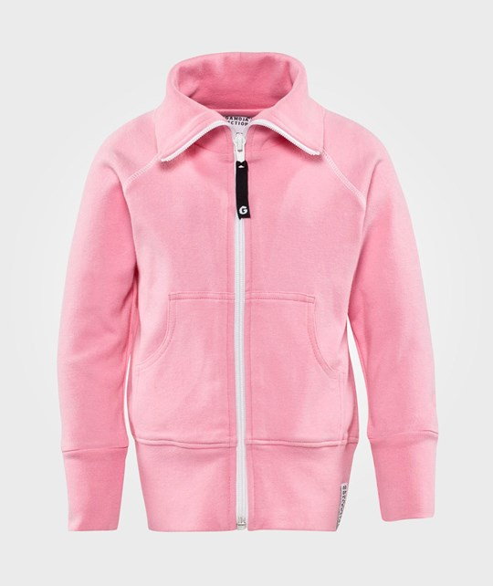 Geggamoja Zip Sweater Pink