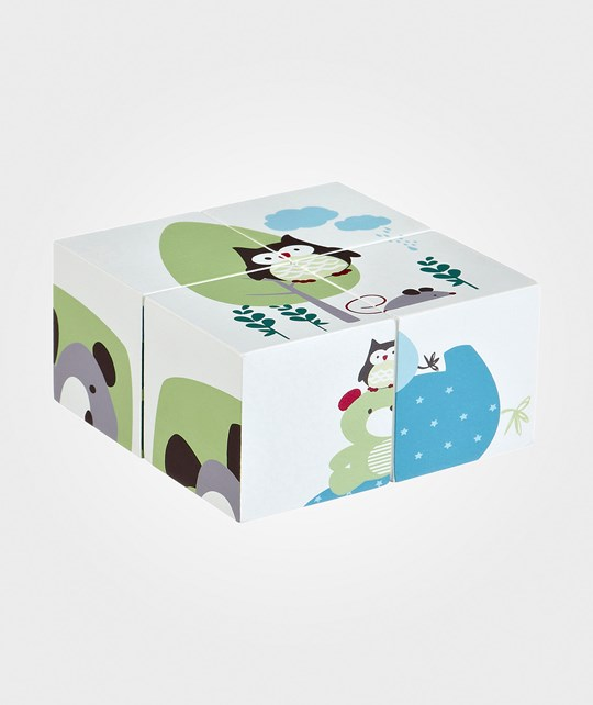 Kids Concept Puzzle Cube Green Green