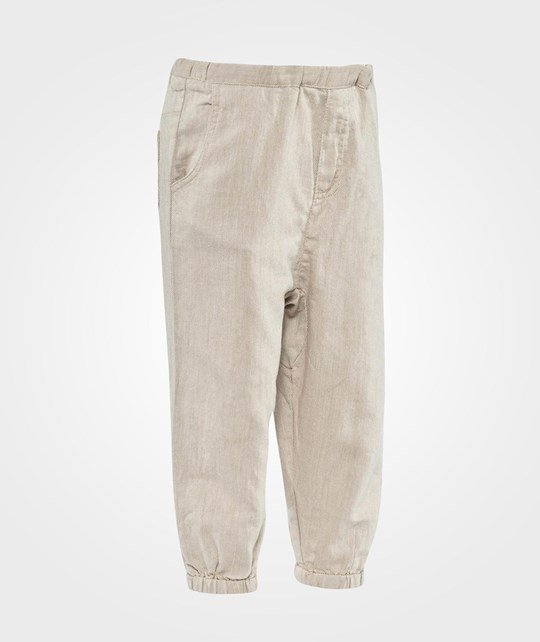 ebbe Kids Tell Low Crotch Pant, Baby  Offwhite/beige