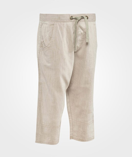 ebbe Kids Tellus Low Crotch Easy Pant  Offwhite/beige