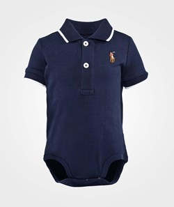 Ralph Lauren Bodysuit Tipped Polo Pp