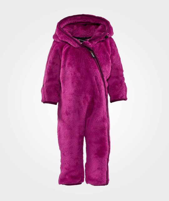 Isbjörn Of Sweden Cozy Highloft Jumpsuit Very Berry
