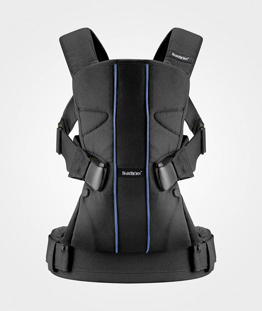Babybjörn Baby Carrier ONE Cotton Black Blue
