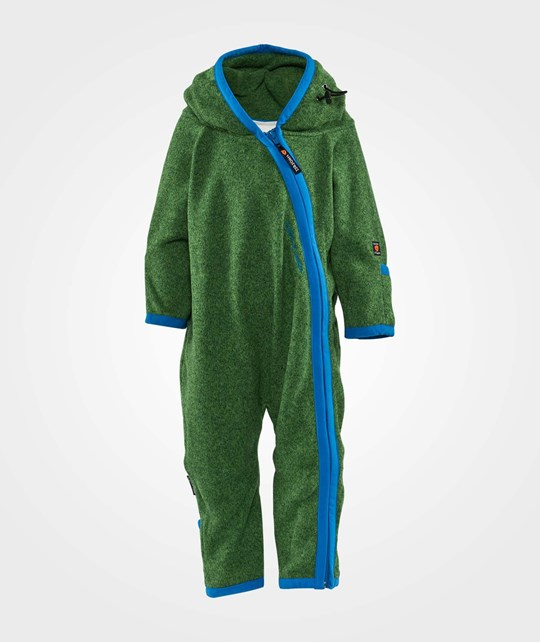 Isbjörn Of Sweden Rib Fleece Jumpsuit Regen Leaf Regen Leaf