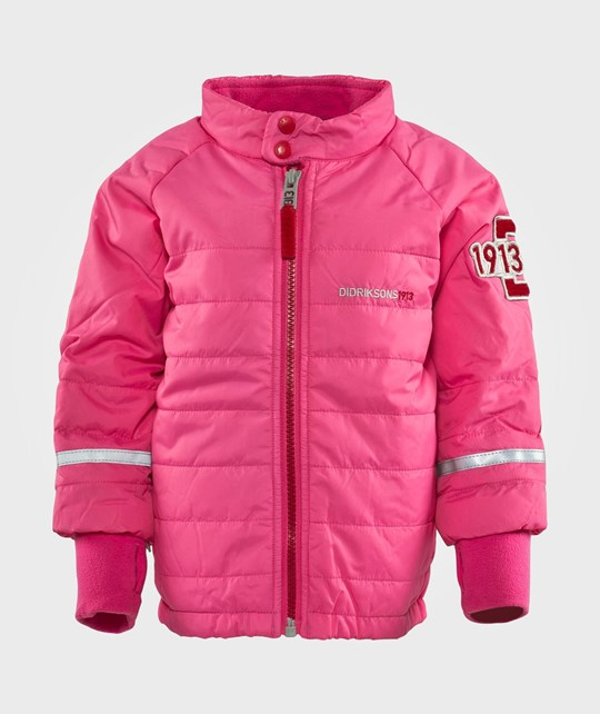 Didriksons Puffy Kids Jkt Flamingo
