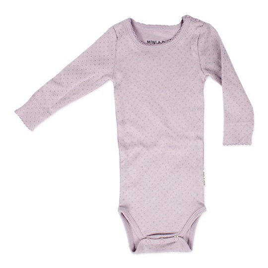 Mini A Ture Eddine Body Onesie Purple