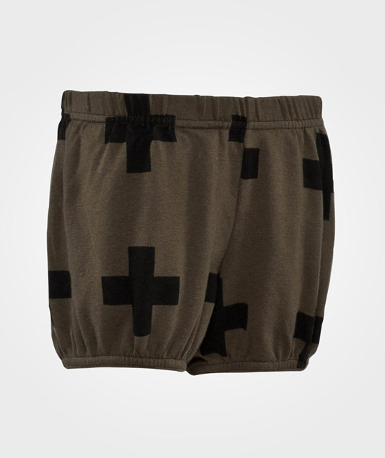 NUNUNU Plus Yoga Shorts Olive Olive
