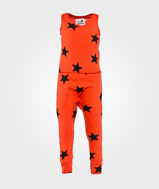 NUNUNU New Star Romper Flame Flame
