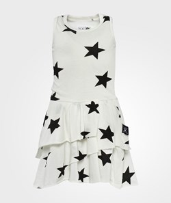 NUNUNU Layered Dress White