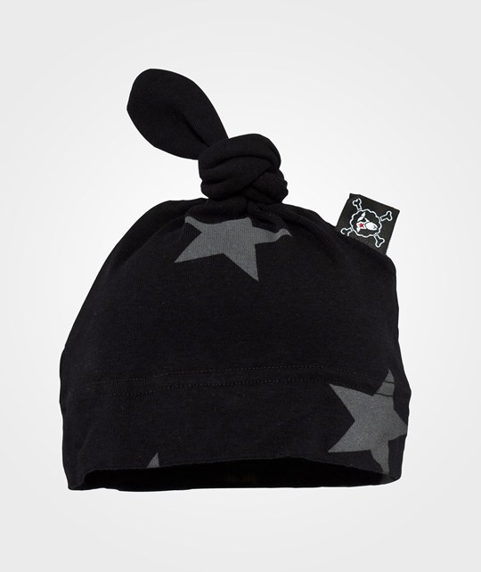 NUNUNU Star Hat Black Black
