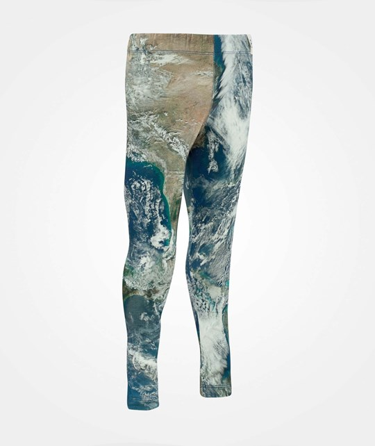 Popupshop Leggings Earth Print Earth Print