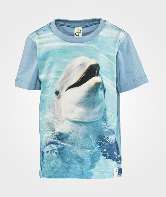 Popupshop Supreme Loose Tee Dolphin Dolphin