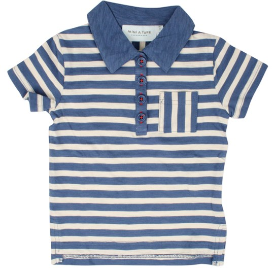 Mini A Ture Ketil T-Shirt Blue