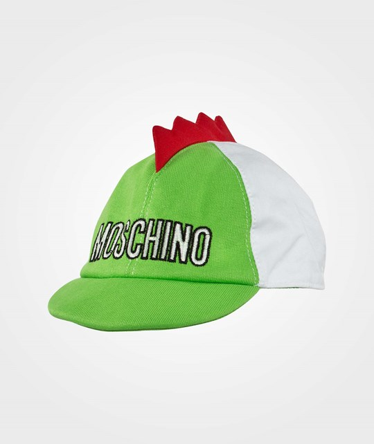 Moschino Baby Hat Green Lime