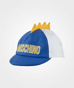 Moschino Baby Hat Blue Surf