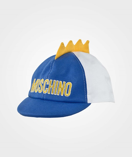Moschino Baby Hat Blue Surf Blue Surf