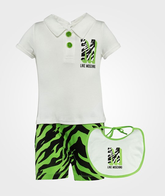 Moschino Baby Rompers  Tiger Lime