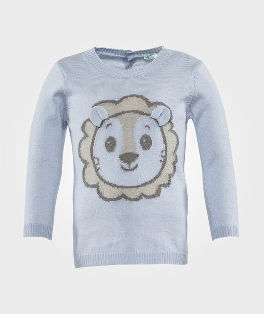 United Colors of Benetton Knit Jumper Light Blue Light Blue